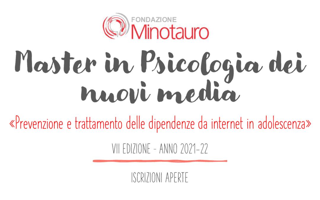 """Master """"Prevenzione e trattamento delle dipendenze da internet in adolescenza"""" – APERTURA ISCRIZIONI VII ed."""